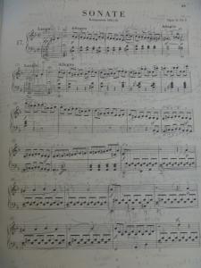 ベートーヴェン ピアノ・ソナタ 第17番 テンペスト