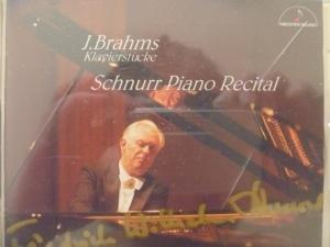 ブラームス ピアノ・ソナタ第2番、2つの狂詩曲Op.79、ヘンデルの主題による変奏曲とフーガ 作品24、Intermezzo Op.117-1