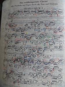 バッハ 平均律 第2巻 第1番 プレリュード楽譜