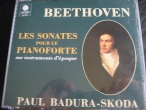 パウル バドゥーラ=スコダ ベートヴェン ピアノ・ソナタ全集(古楽器による)