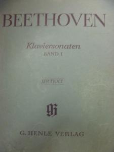 ベートーヴェン ピアノ・ソナタ全集ヘンレ版第1巻