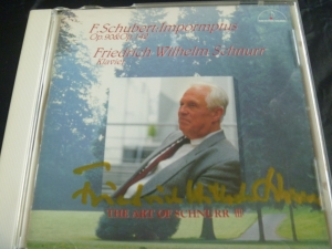 シュヌアー教授 シューベルト即興曲CD