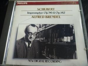 ブレンデル シューベルト即興曲CD