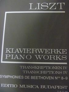 ベートーヴェン/リスト 交響曲第9番