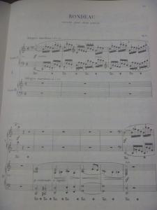 ロンド Op.73 2台ピアノ