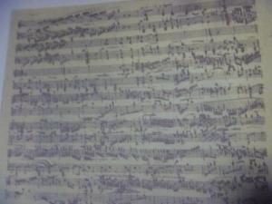 ロンド Op.73 独奏 自筆譜