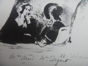 サンドとダグー伯爵夫人