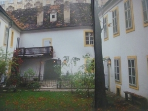 ハイドンのGumpendorfの家の内庭