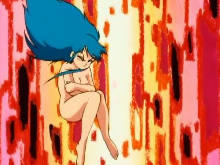 ゲンジ通信あげだま 九鬼麗のハイパー怨夜巫女変身シーン全裸乳首93