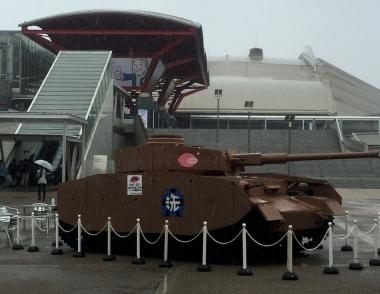 ガルパンの戦車