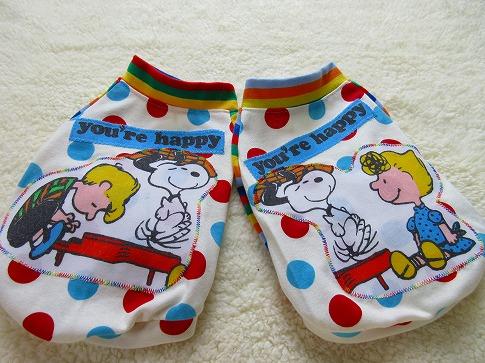 M*mania★ドッド×ボーダーT Snoopyパッチ