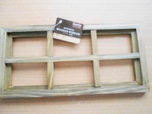 インテリア木製窓