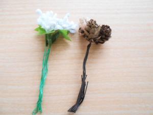 セリアの造花
