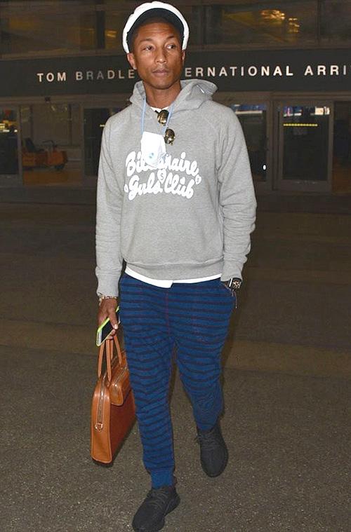 ファレル・ウィリアムス(Pharrell Williams):ビリオネアボーイズクラブ クラブ(BILLIONAIRE BOYS CLUB)/コム デ ギャルソン(Comme des Garcons)/アディダス(Adidas)