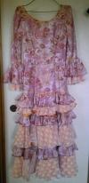 ピンクにオレンジのフェリア衣装