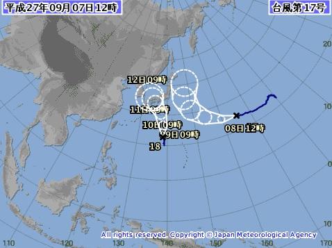 20150907b天気図