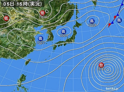 20151005b天気図