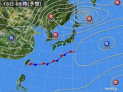 20151009c天気図