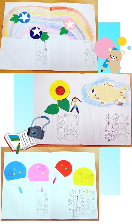 夏休み 絵日記➀