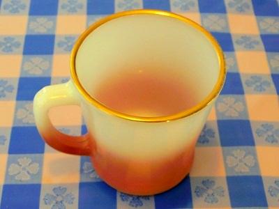 FK 茶グラデーション&ゴールドリムマグ 2