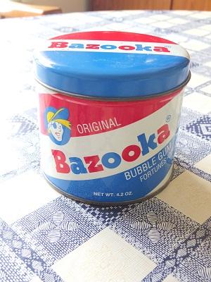 bazooka tin