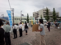 2015.8.30 戦争法案反対街宣