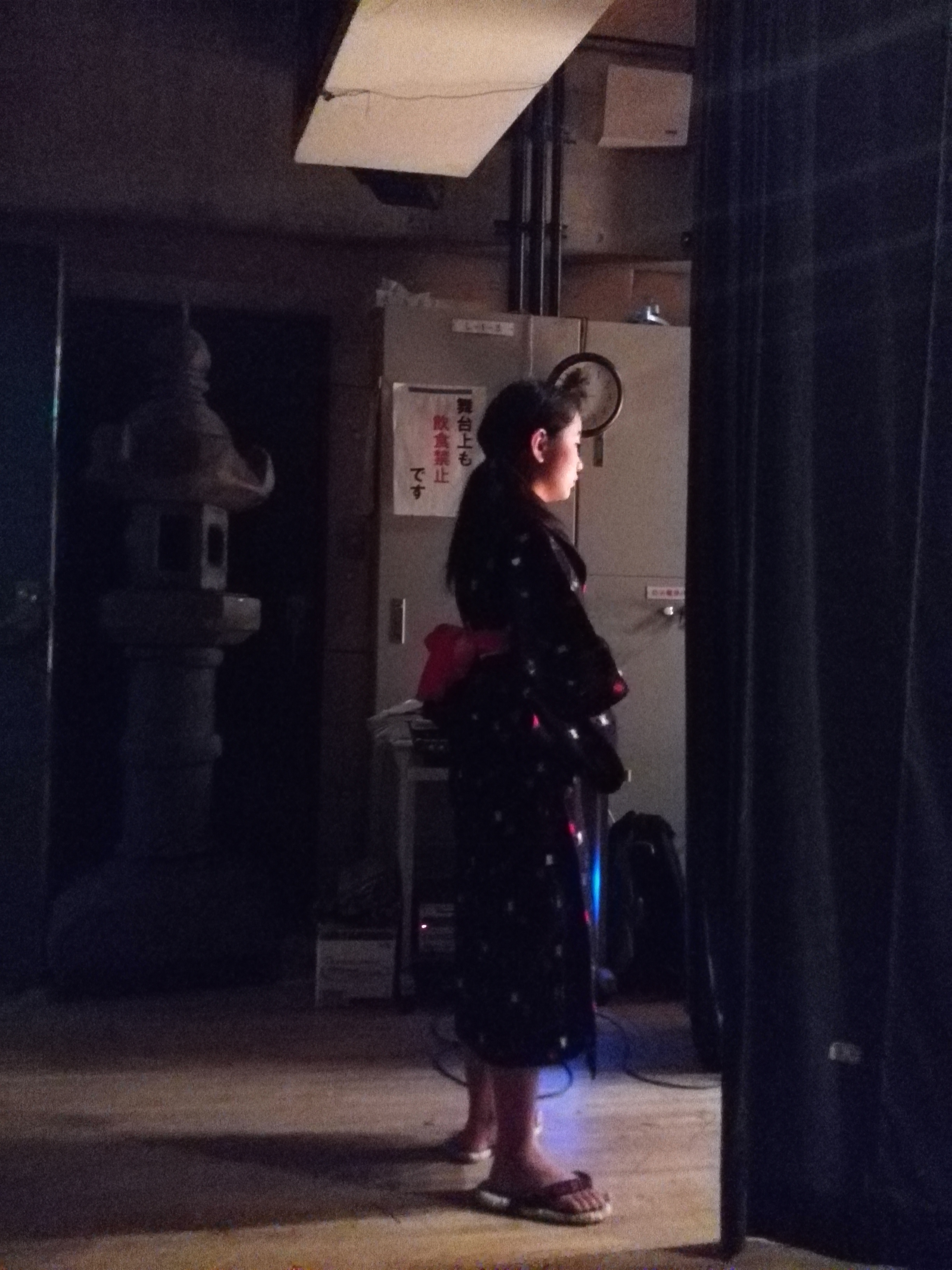 演劇 蚕影様物語リハーサル4
