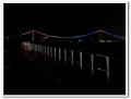 フェリーからの明石海峡大橋