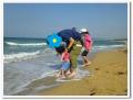 海の中道の砂浜2