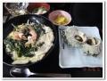サザエ丼と壺焼き