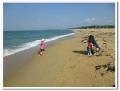 海の中道の砂浜