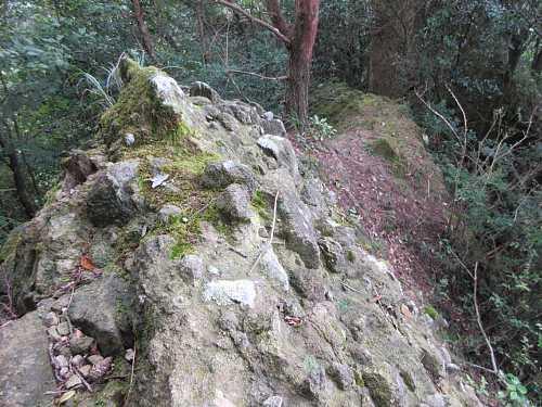 IMG_0028 岩稜を通過