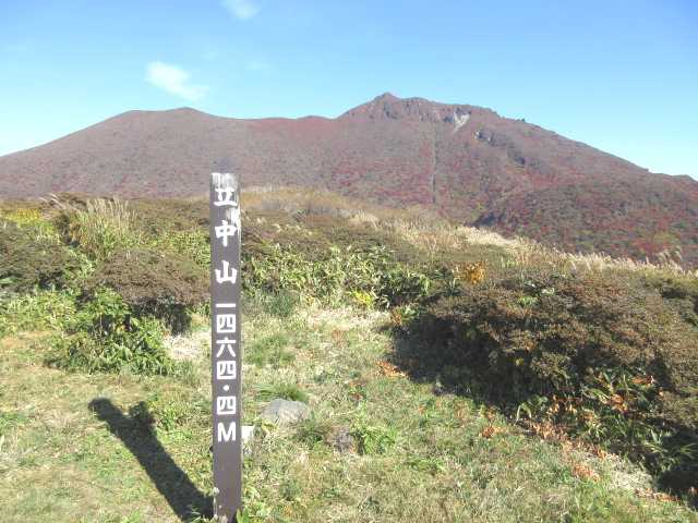 IMG_0072立中山より大船山を見る