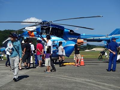 150912空の日フェスタ警察ヘリ