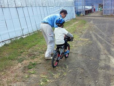 151012自転車の練習