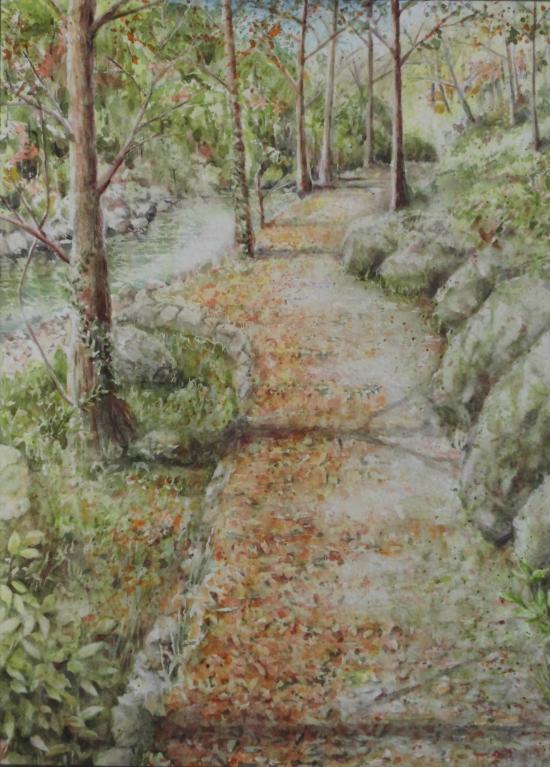溪谷の秋 1509