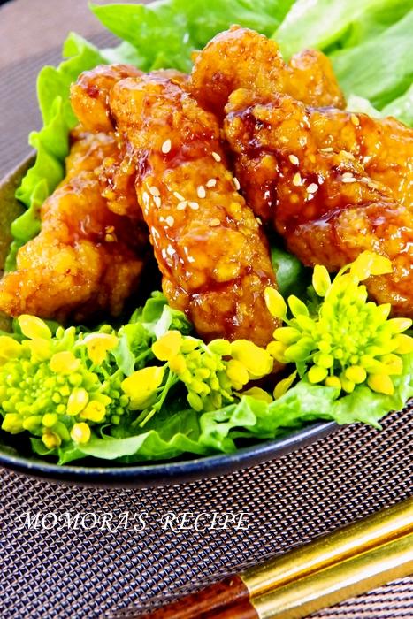 甘辛照焼きチキン (1)