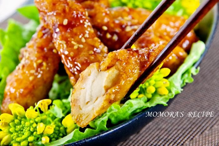 甘辛照焼きチキン (3)