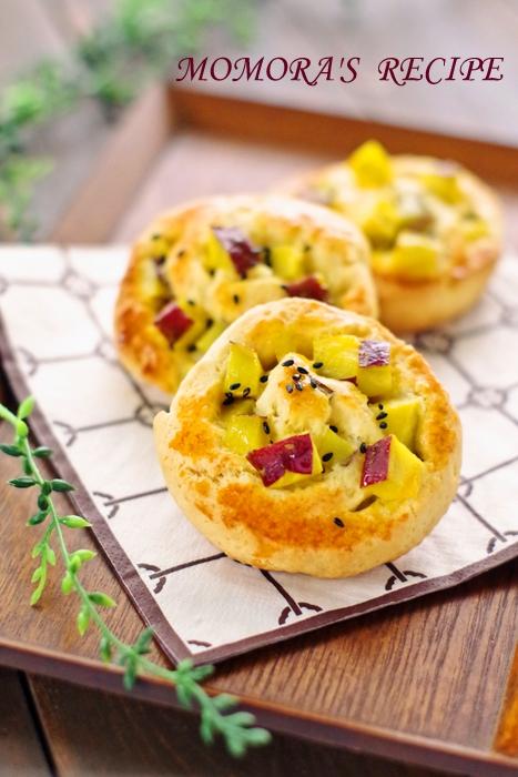 HMさつま芋パン (1)