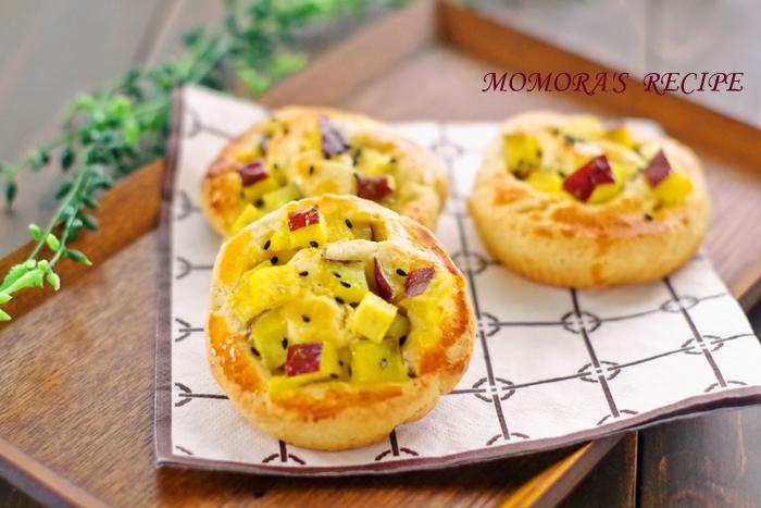 HMさつま芋パン (2)