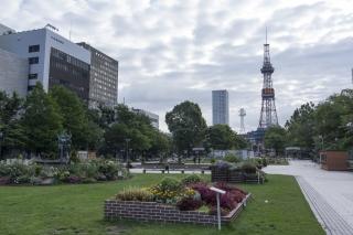 大通公園を散歩