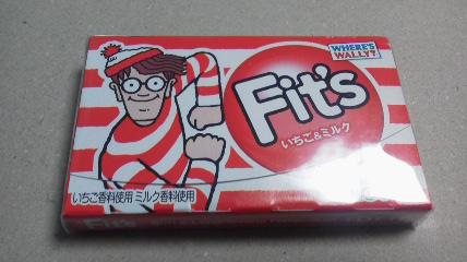 ロッテ「フィッツ <いちご&ミルク>」
