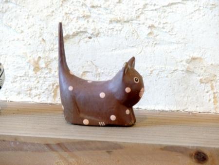 N6345木製ネコ