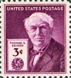 03c 300 Edison stamp