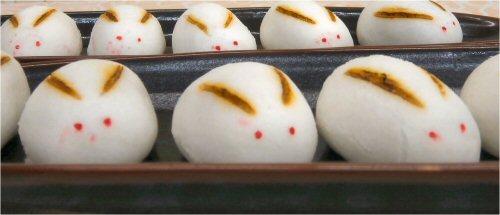 03 500 20150928 Rsウサギ饅頭02zu