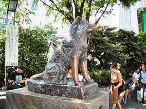 04 300 present statue at 渋谷