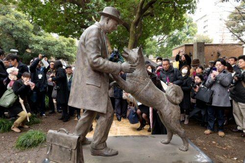 09 500 20150308:上野教授と再会statue