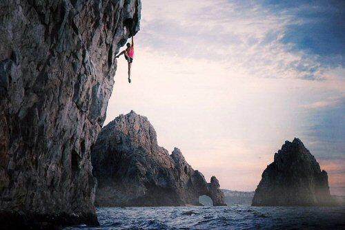 500 08 Climbing in Cabo San Lucas