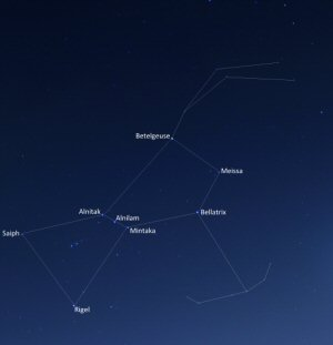 04 300 Orion constellation