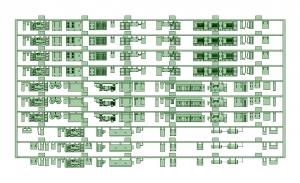相鉄新7000系(7751F)VVVF編成床下機器【武蔵模型工房 Nゲージ 鉄道模型】